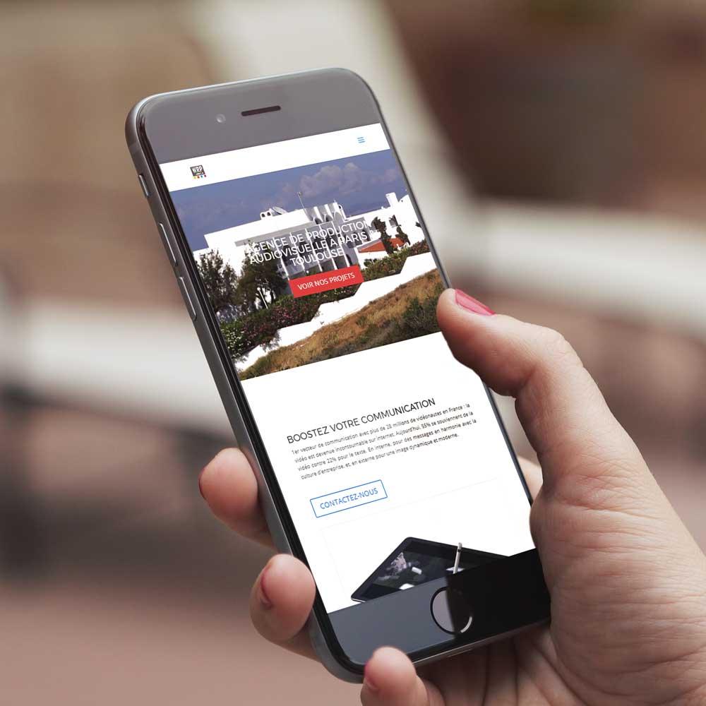Site internet responsive optimisé pour smartphone